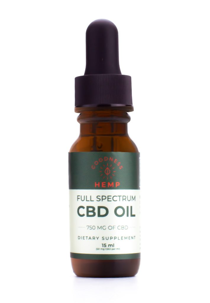 Goodness Hemp Full Spectrum CBD Oil